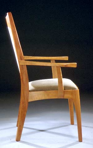 Chair from the side