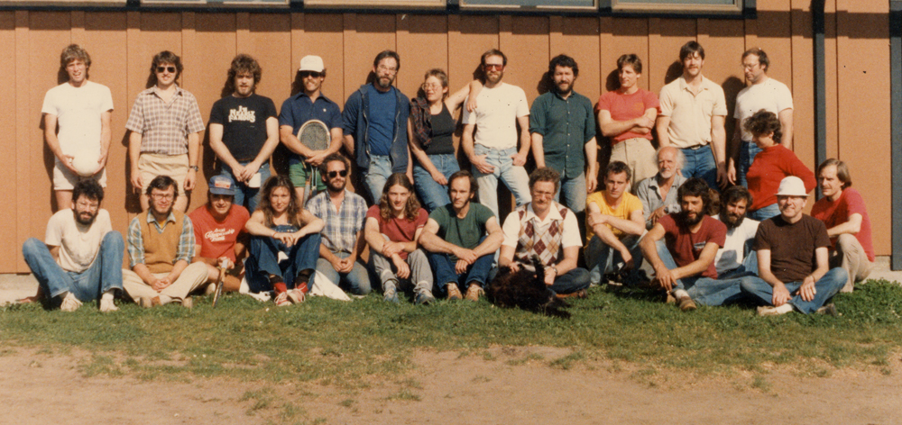 Class of 1984 group photo