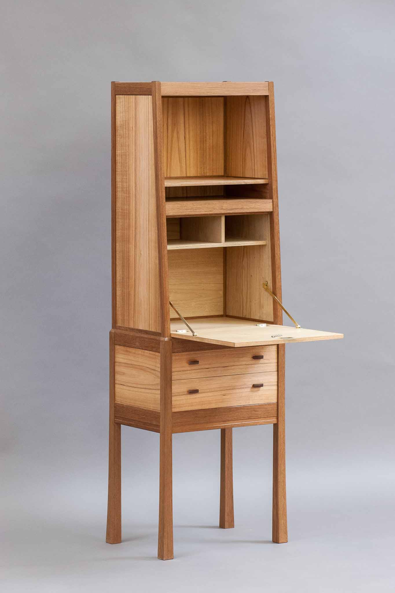 Stand up drop front desk « the krenov school of fine furniture
