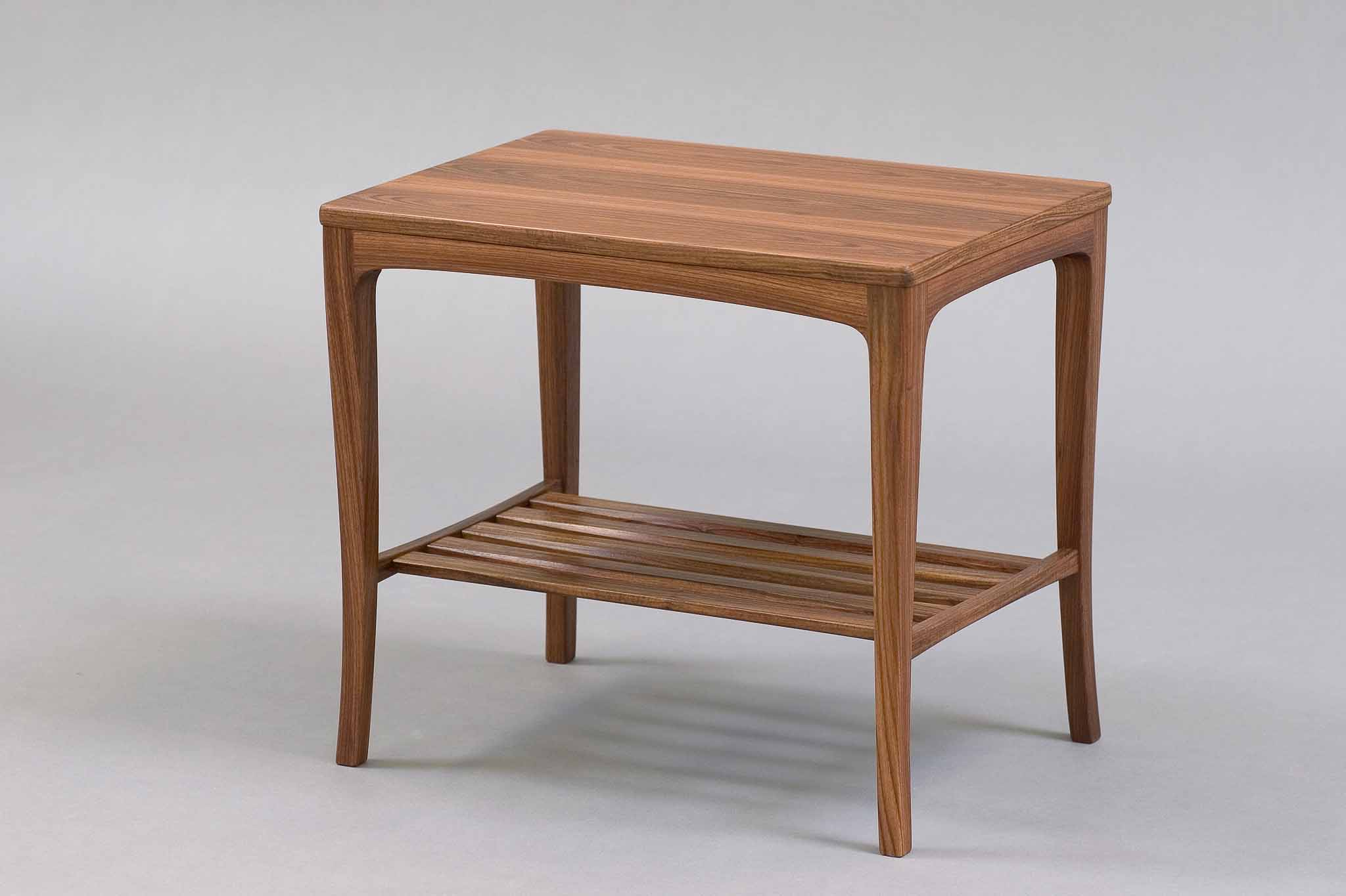 granadillo side table