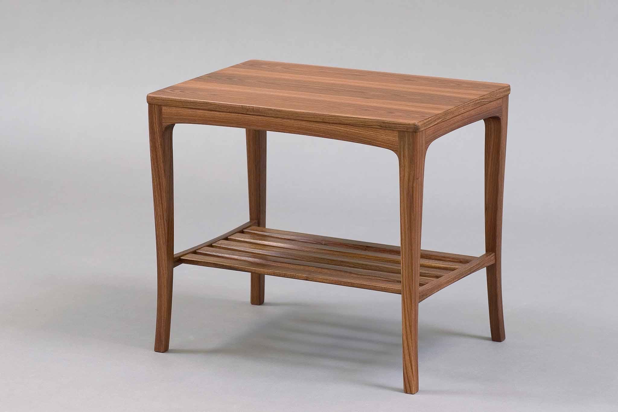 granadillo side table