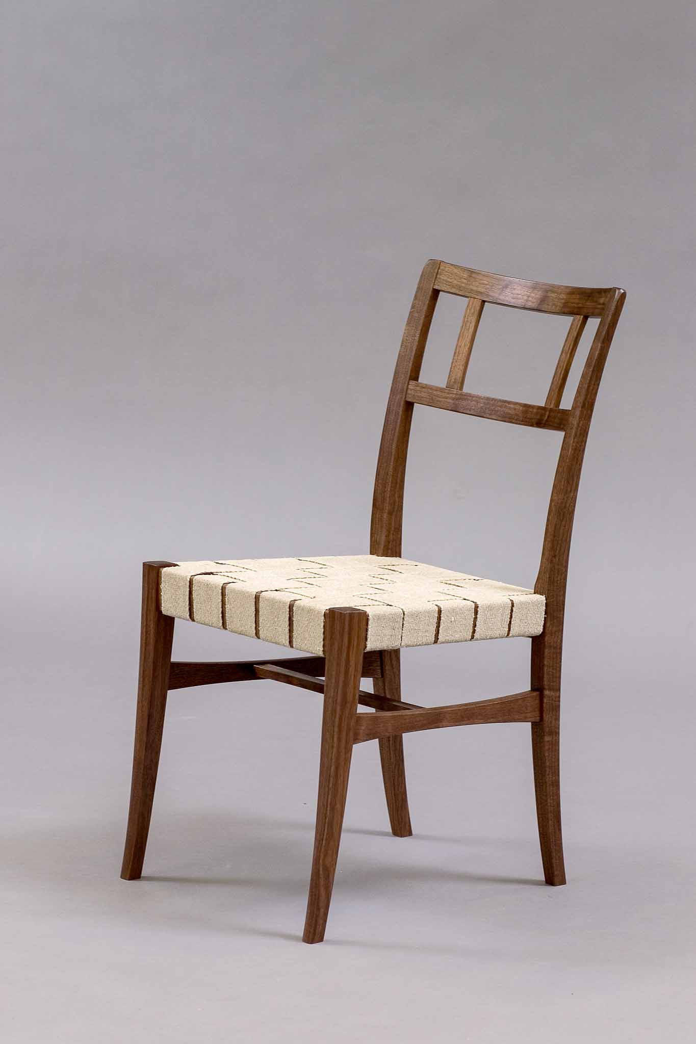 pasi chair with woven seat