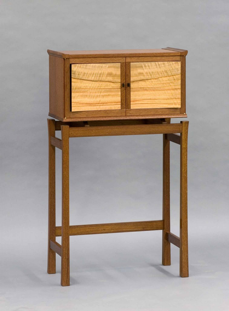 cabinet on a stand