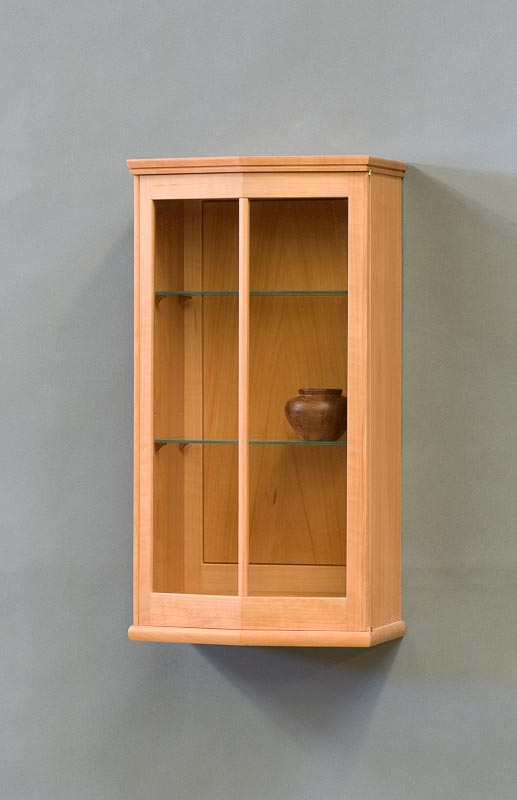 glass wall cabinet
