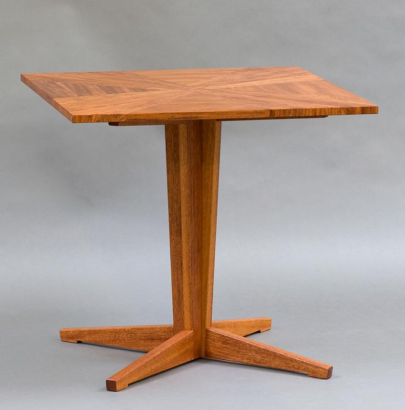 parquetry cafe table
