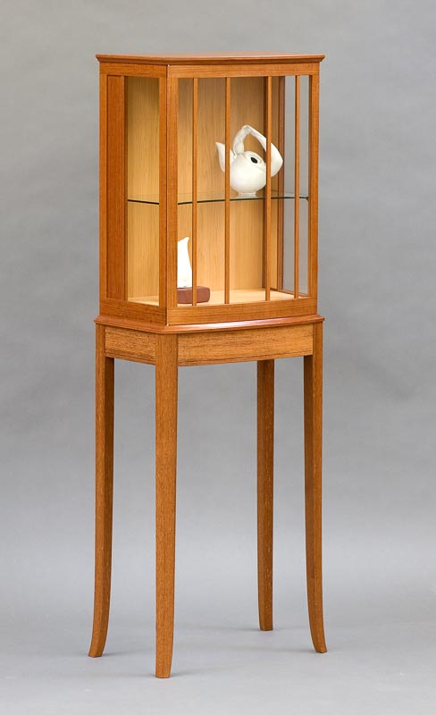 display cabinet on a stand