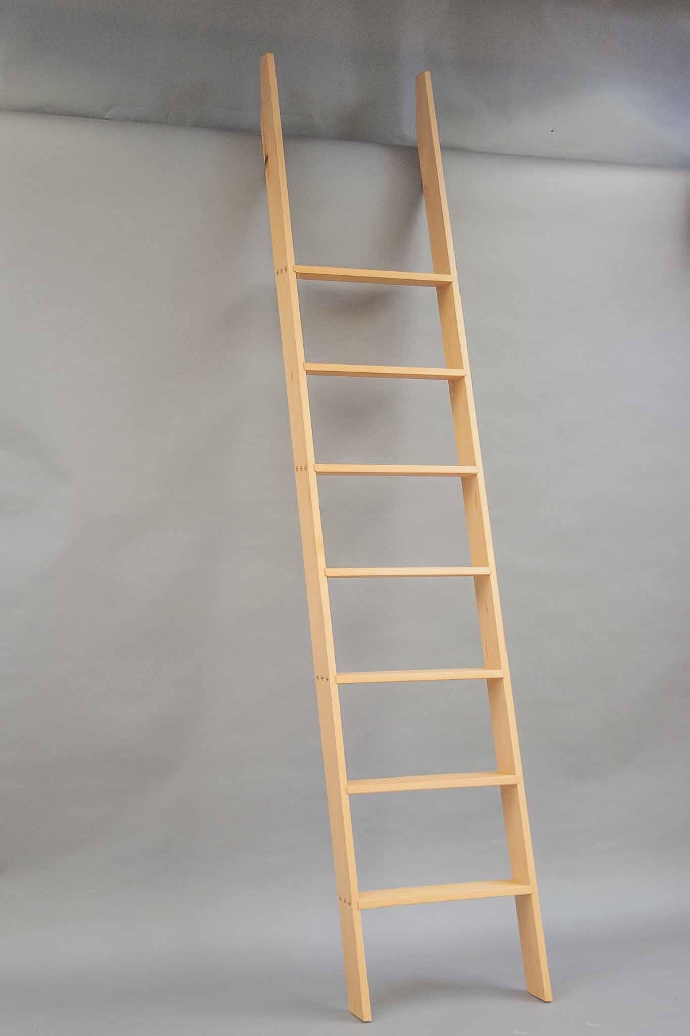 Loft ladder the krenov school of fine furniture for Ladder project