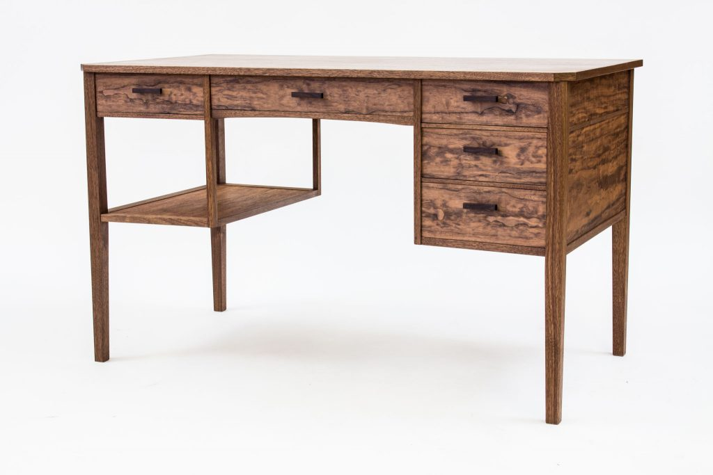 Bruces walnut desk