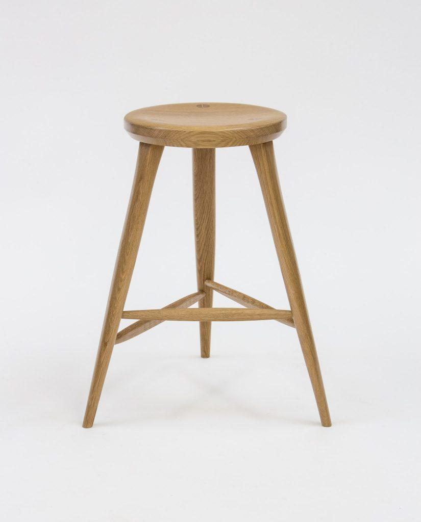 Hinkley oak stool
