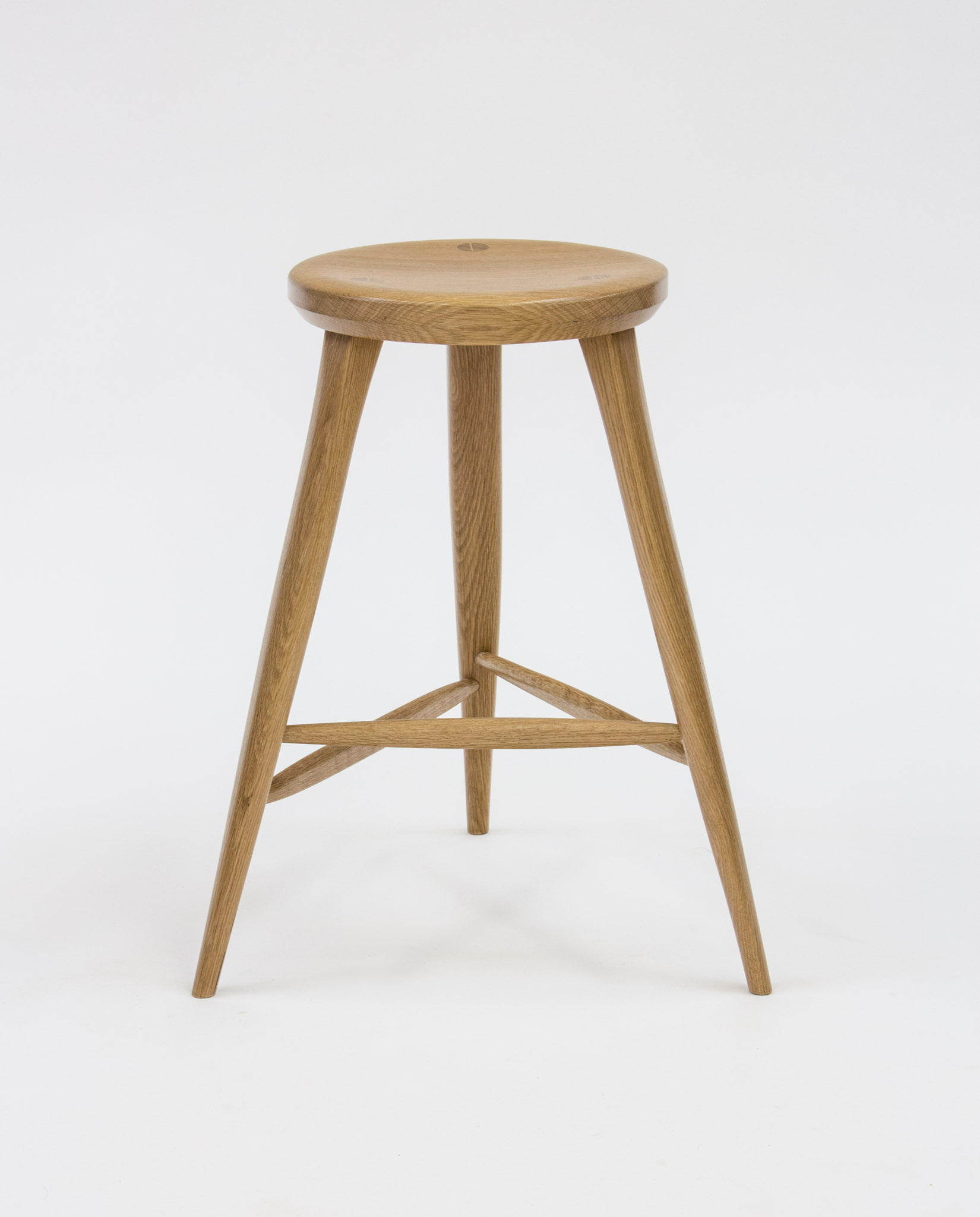 Hinkley oak stool