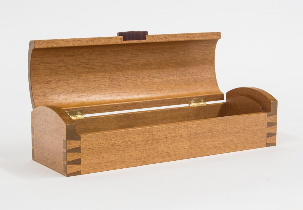 dovetailed coffin box