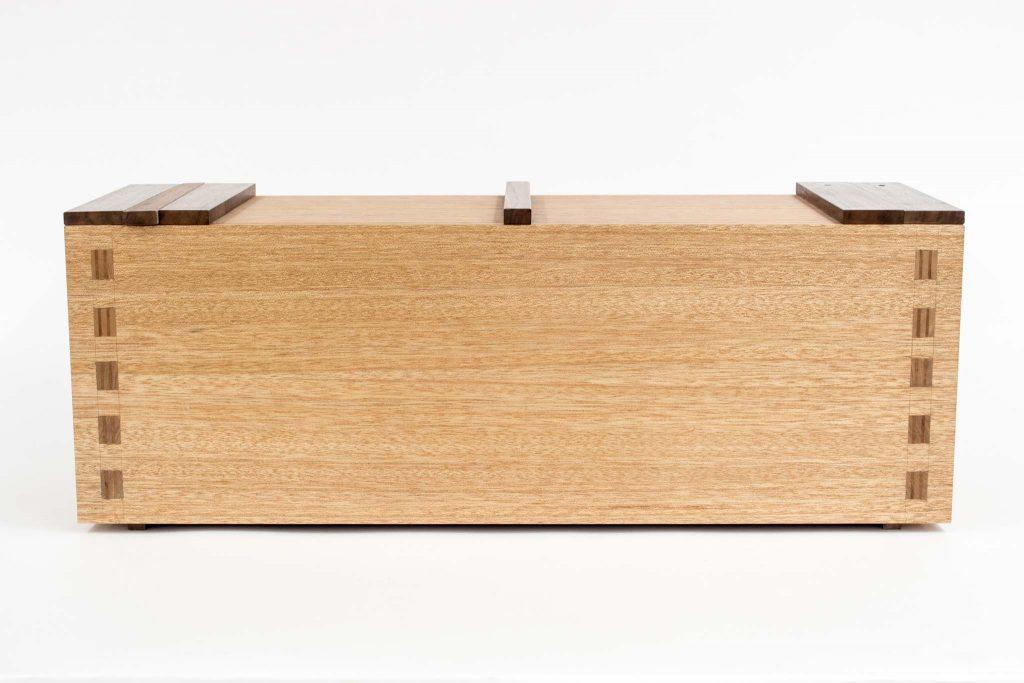 mahogany toolbox