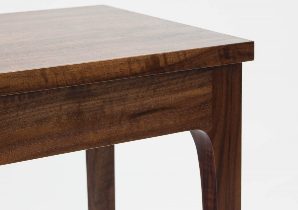 claro walnut hall table