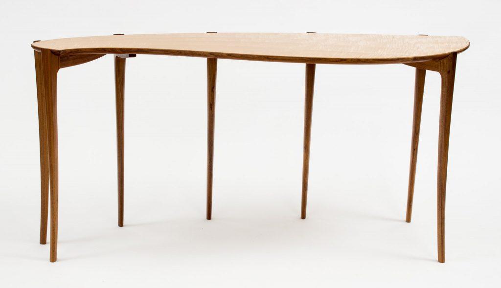 veneered table