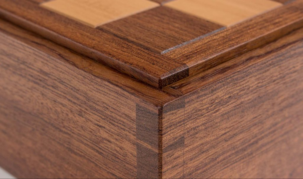 bubinga chess box