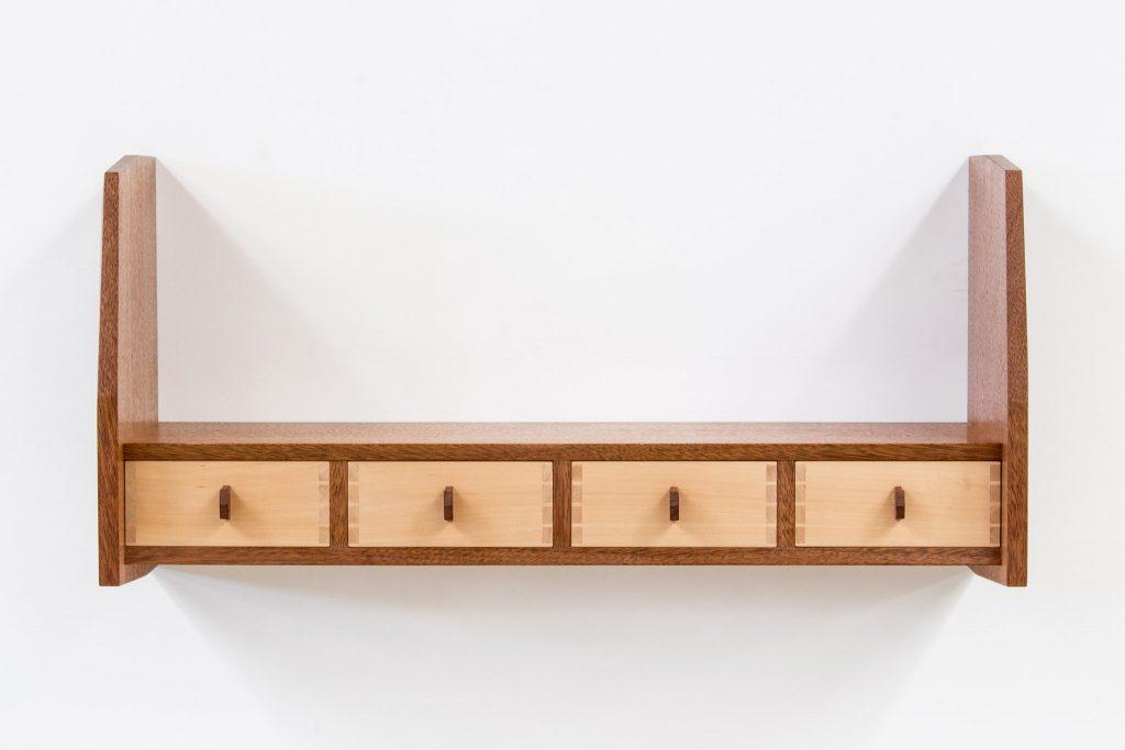 kwila wall shelf