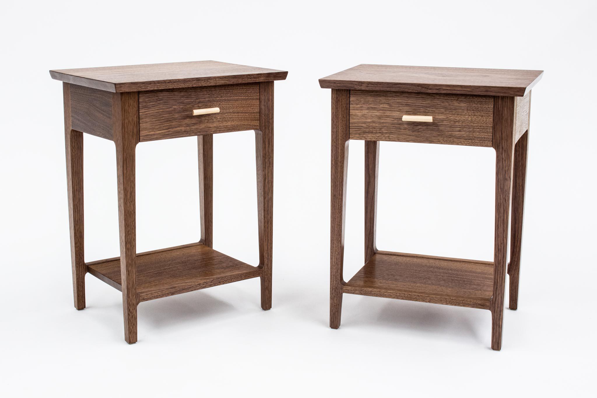 Bui Walnut Side Tables