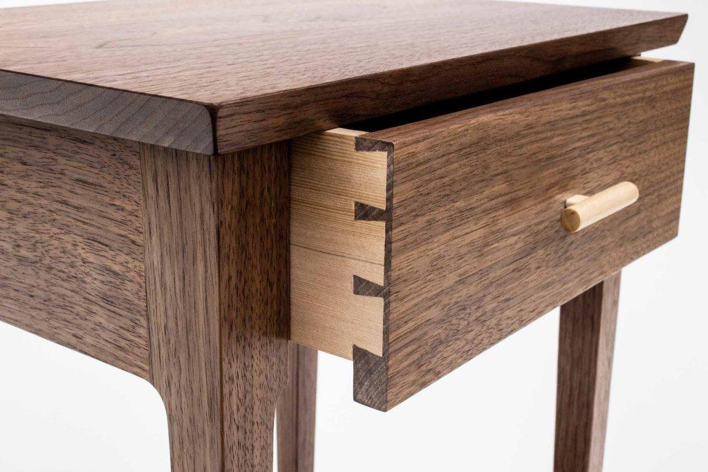 Bui Walnut Table Detail