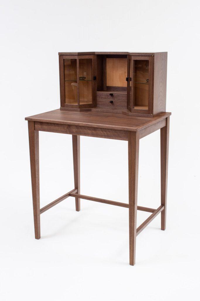 Gavin walnut desk