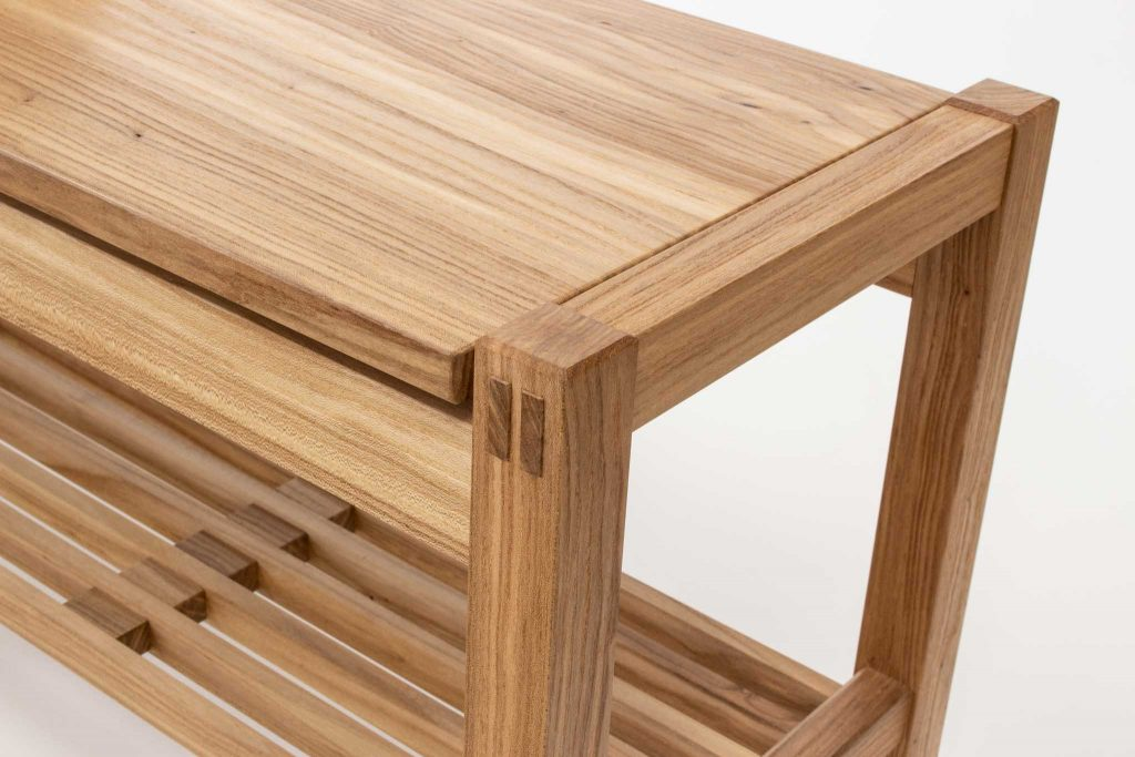 Greene elm bench