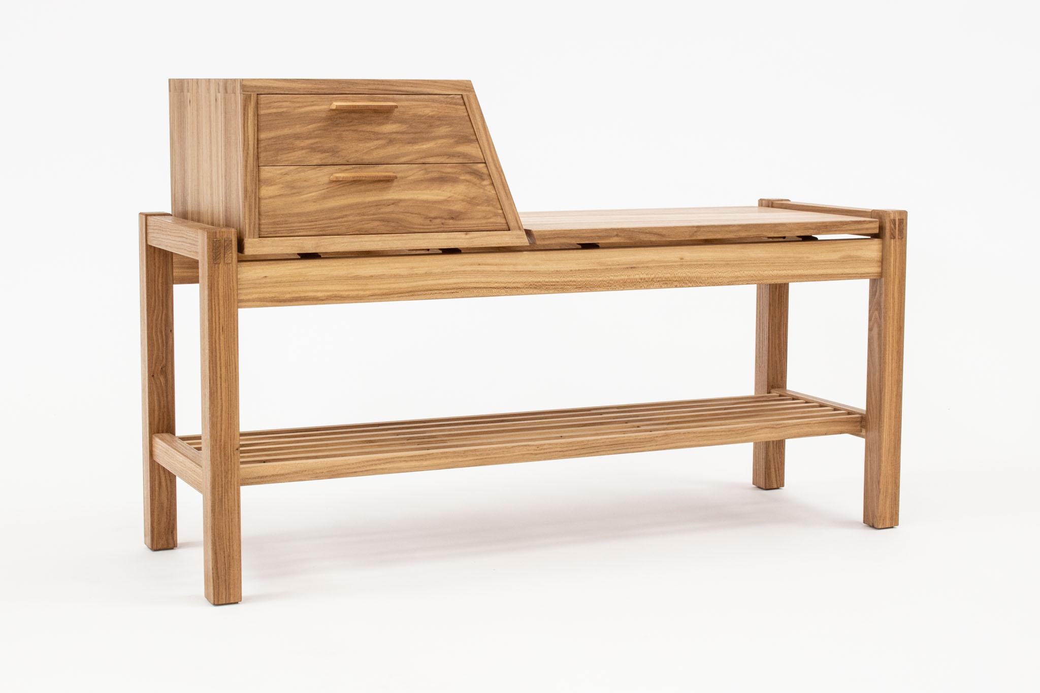 Greene elm bench