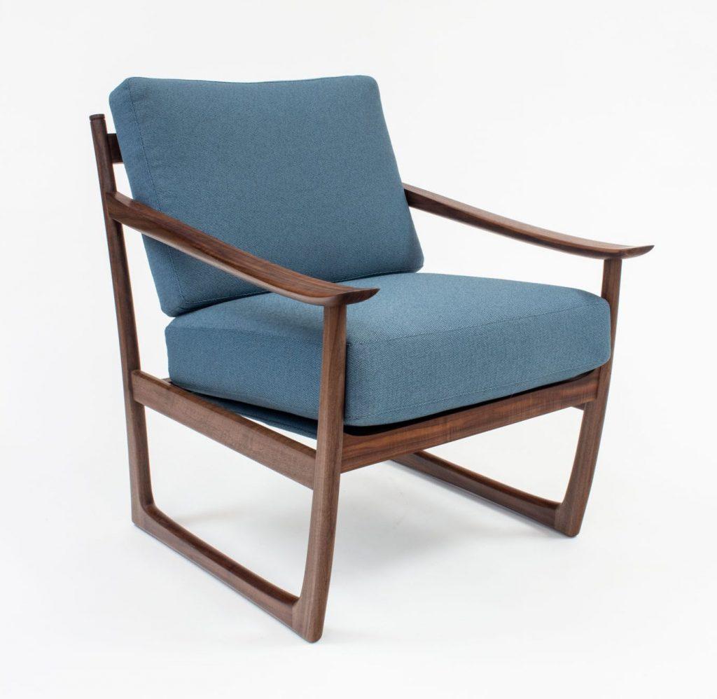 Lourens walnut chair