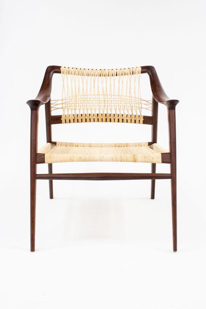 Pinzon walnut chair