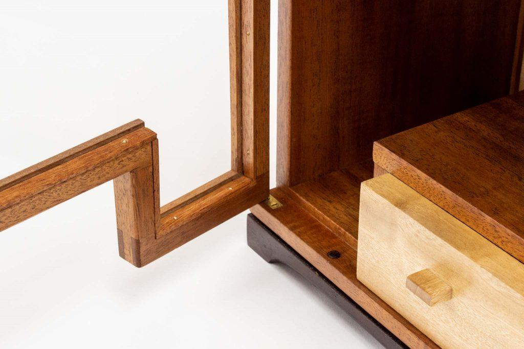 Pinzon mahogany desk cab