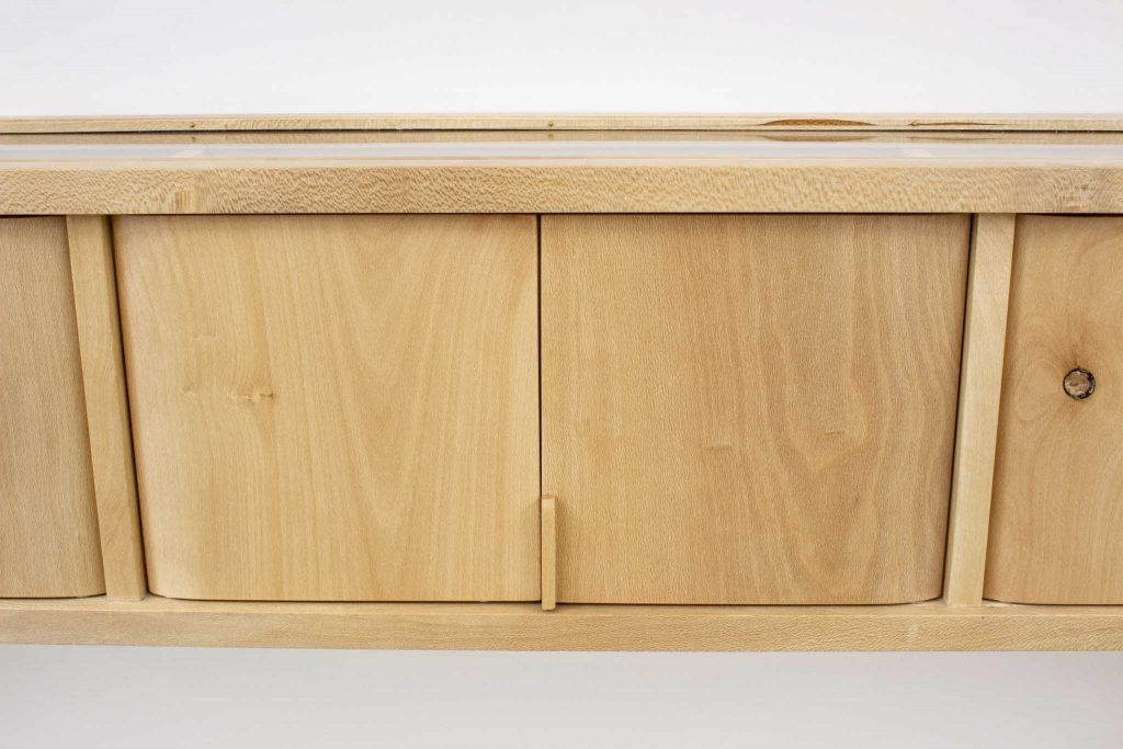 Williams holly glass cabinet