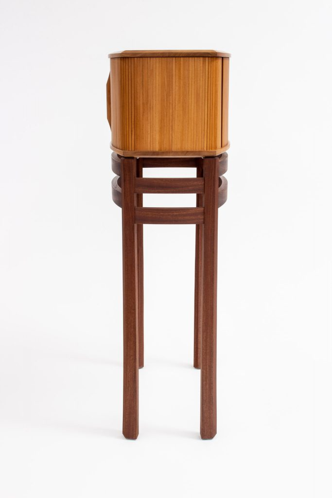 Carr tambour cab on stand