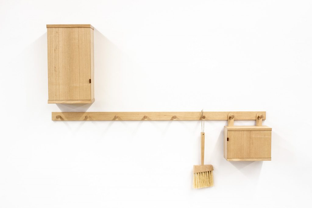 Cho ash coat rack