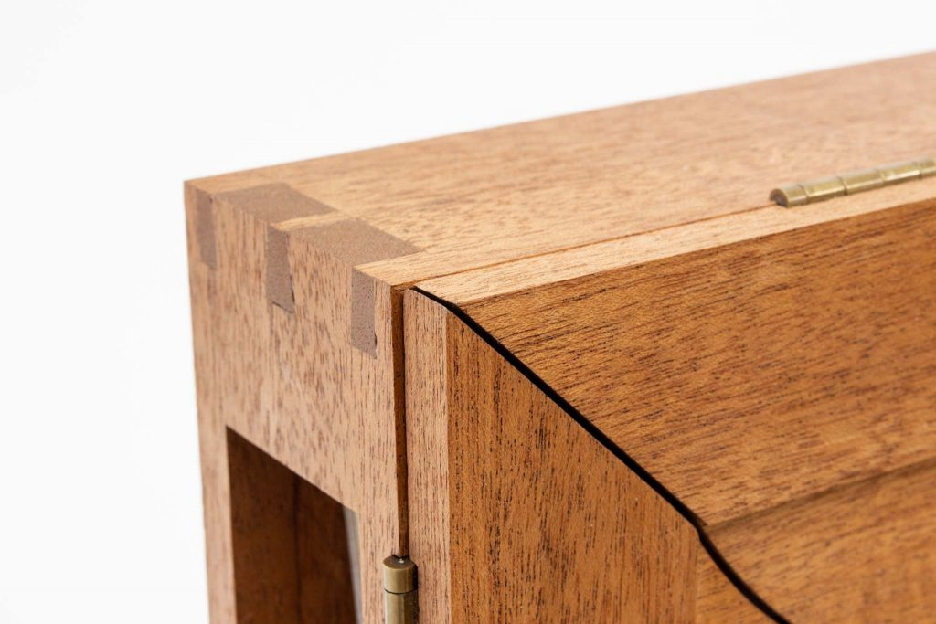 hasler madrone hidden dovetail box