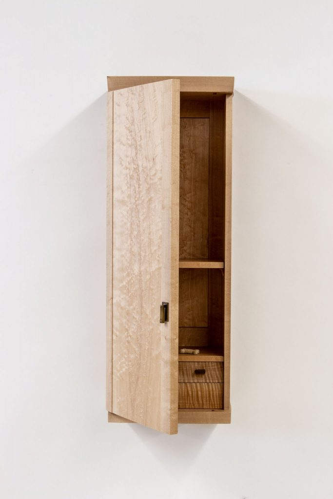Loehrlein maple curved door cab