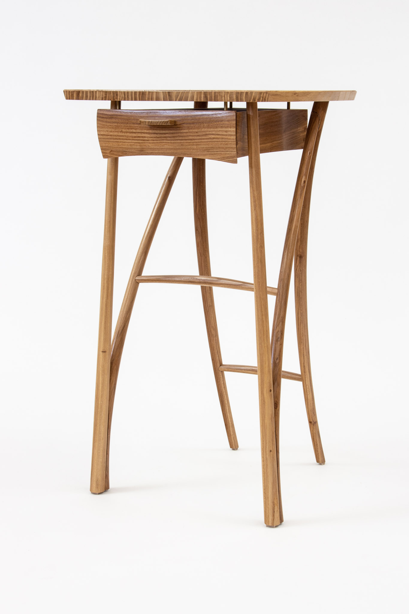 Means elm end table