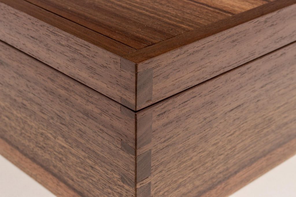 Matz Walnut Jewelry Box