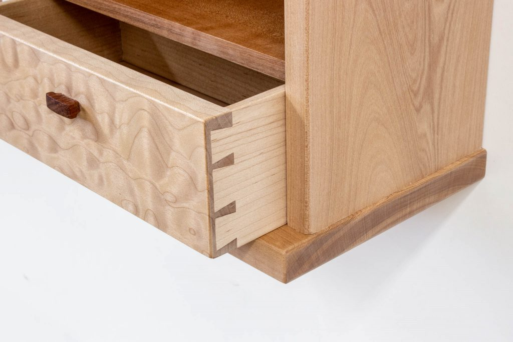 Morrison Madrone Maple Wall Cabinet